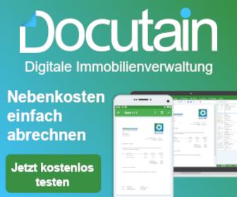 Docutain Digitale Immobilienverwaltung