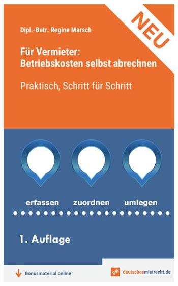 Buch Betriebskostenabrechnung, Bild
