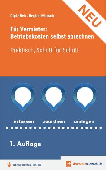 Buch Betriebskostenabrechnung, Bild Groß