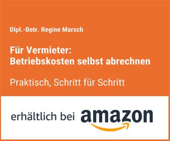 Buch Betriebskostenabrechnung Bild