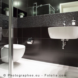 badfliesen bohren verboten aber nur bei ausreichender ausstattung. Black Bedroom Furniture Sets. Home Design Ideas